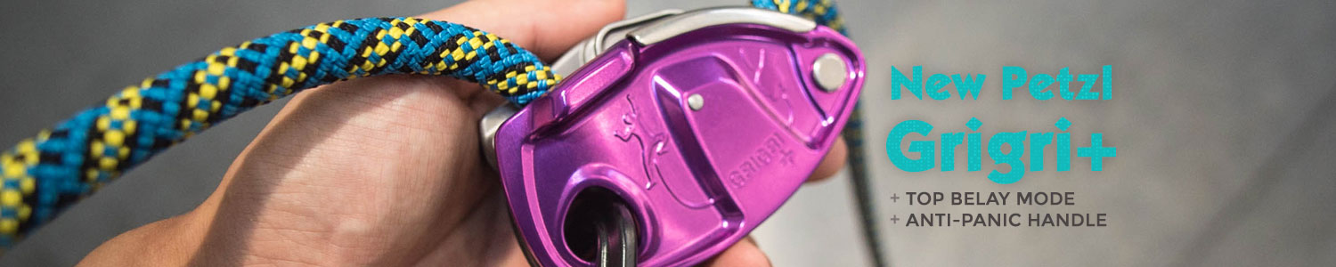 New Petzl Grigri+ Now Available