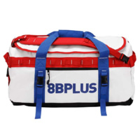 8b PLUS Kraxen 70L Gearbag Chalk Red & Blue