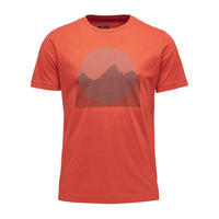 Black Diamond Men's Landscape Tee - Rust