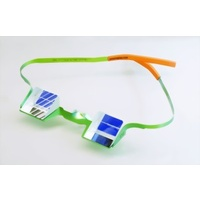 CU Belay Glasses - Green Orange