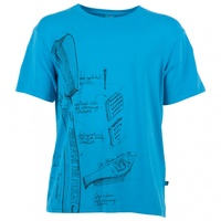 E9 Preserve Men's Shirt - Cyan
