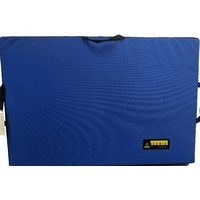 Organic Half Pad - Solid Colour (Blue)