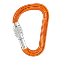 Petzl Attache 3D Screw Gate Orange