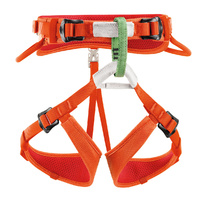 Petzl Macchu Kids Harness Orange