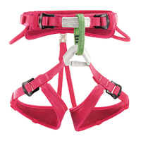 Petzl Macchu Kids Harness Pink