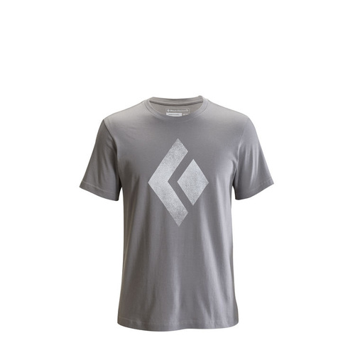 Black Diamond Chalked Up Tee (Colour: Nickel; Size: Small)