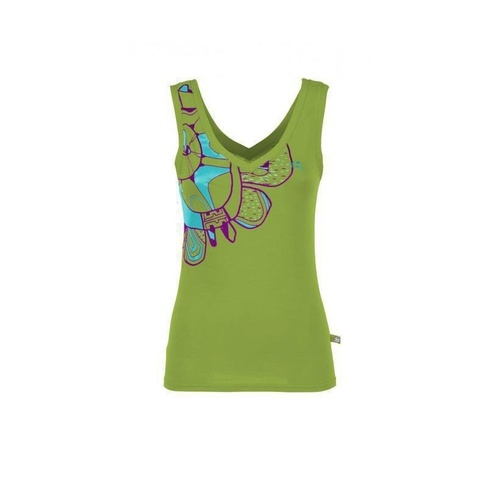 E9 Women's Tac Singlet(Color:Apple,Size:XXS)