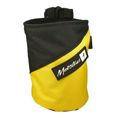 Metolius Competition Chalk Bag Yellow