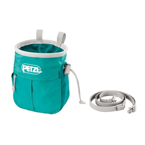 Petzl Sakapoche Chalkbag (Colour: Teal)