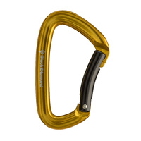 Black Diamond Positron Bent Gate Yellow