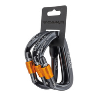 CAMP Orbit Lock Gun Metal - Set of 3