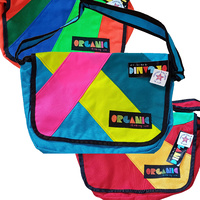 Organic Artist Messenger Bag (Various Colours)