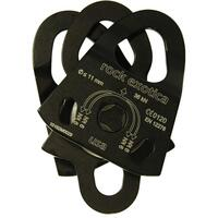 Rock Exotica P21 Double Pulley BLACK