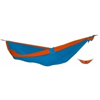 Ticket to the Moon Double Hammock Aqua with Orange