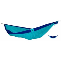 Ticket to the Moon Double Hammock Turqouise with Royal Blue