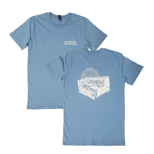 Climbing Anchors 2020 Tee Men's - Carolina Blue