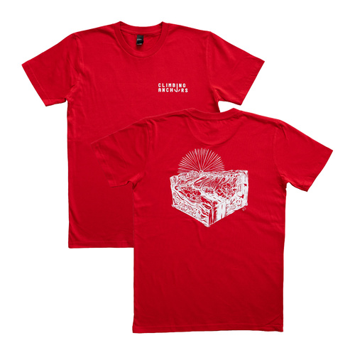 Climbing Anchors 2020 Tee Mens - Red