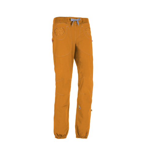 E9 S20 Mix Women's Pants - Mustard