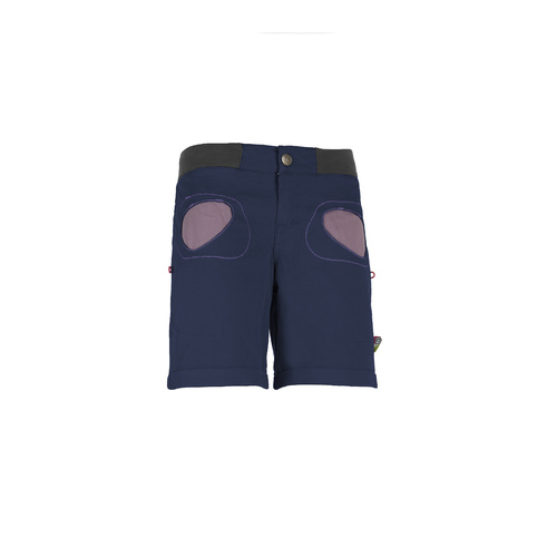 E9 S20 Onda Women's Shorts - Blue Navy