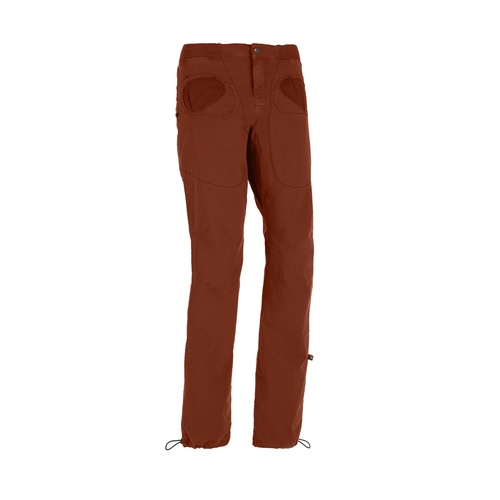 E9 S20 Rondo Slim Men's Pants - Brick