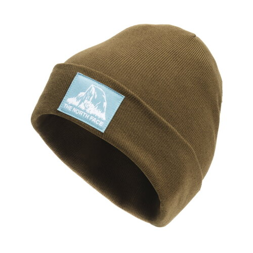 The North Face Dock Worker Recycled Beanie - Military Olive